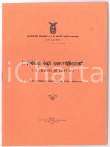1919 MILANO Consorzio approvvigionamento - Questione caro viveri - Pubblicazione