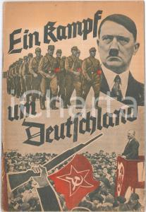 1933 EIN KAMPF UM DEUTSCHLAND Nazi propaganda - Adolf HITLER Publication