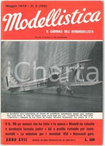 1972 MODELLISTICA Motori il G. 20 - Campionato italiano COMBAT *Rivista n°5