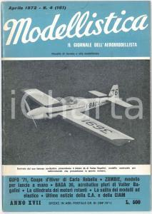 1972 MODELLISTICA Baga 36 di Valter Bagalini - Zombie di Guy Revel *Rivista n°4