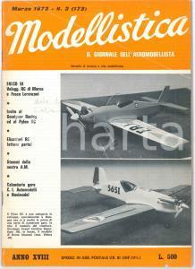 1973 MODELLISTICA - Pylon Racer - Stemmi Aeronautica Militare Italiana *Rivista