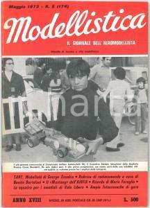1973 MODELLISTICA  Wakefield di George Xenakis - P. 51 MUSTANG *Rivista n°5