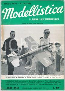 1973 MODELLISTICA Mondiali RC Gorizia - Wakefield di Bob White *Rivista n°10