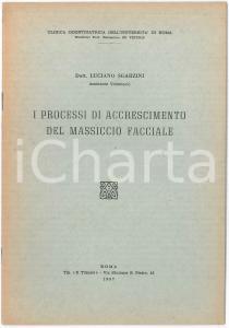 1957 Luciano SGARZINI Accrescimento del massiccio facciale - Pubblicazione