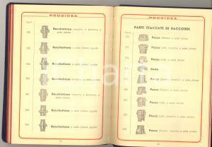 1937 TORINO Ditta PROSIDEA Prodotti Siderurgici - Catalogo ILLUSTRATO 126 pp.