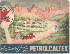 1965 ca SARPOM Attraverso l'Italia con PETROCALTEX Pubblicazione illustrata