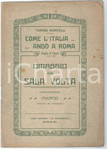 1884 MILANO Eugenio SCRIBE Il Cuoco ed il Segretario - Libreria Editrice