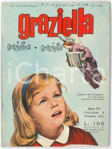 1957 GRAZIELLA -  Il piccolo figurinaio e la bella signora *Rivista n. 10