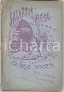 1874 Antonio GHISLANZONI/Carlo GOMES Salvator ROSA - Dramma lirico - Ed. RICORDI