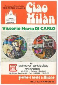 1976 CIAO MILÀN - V. Maria DI CARLO - Recital di Marina FABBRI - Rivista n. 17