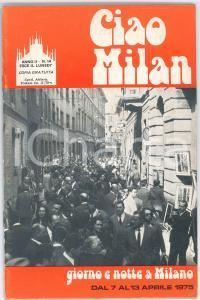 1975 CIAO MILAN - Gruppo d'arte ARMEDIA - Rivista n. 14