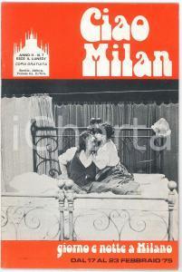 1975 CIAO MILAN - Una visita all'atelier di Amadio BIANCHI - Rivista n. 7