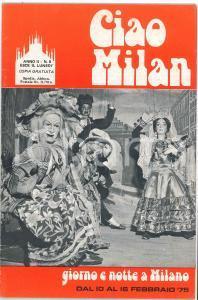 1975 CIAO MILAN - Ernesto TRECCANI Centro artistico milanese - Rivista n. 6