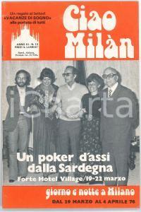 1976 CIAO MILÀN - La prima