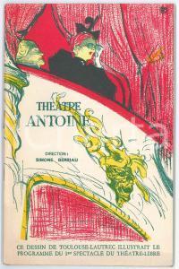 1960 PARIS Théâtre Antoine - Marcel ACHARD - L'idiote - Programme 54 p.