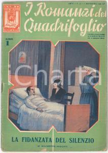 1936 Giuseppe RIGOTTI La fidanzata del silenzio - I Romanzi del Quadrifoglio
