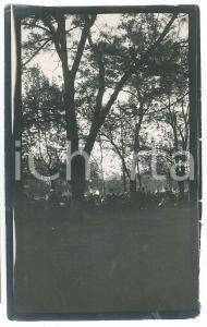 1915 ca ITALIA - Evento in un parco urbano - Foto VINTAGE 9x15 cm