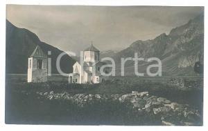 1905 ca ITALIA - ALPI - Chiesa di campagna - Foto VINTAGE 14x8 cm