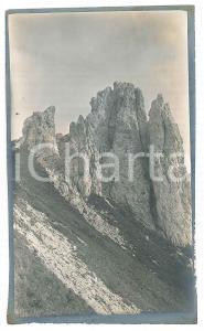 1910 ca Area di LECCO - GRIGNA Meridionale - Torrioni CASATI - Foto (1) 9x15 cm