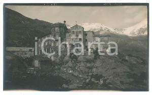 1910 ca ITALIA - ALPI - Ristorante - Al Forno - Albergo - Foto VINTAGE 15x9 cm