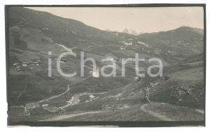 1920 Area di LIVIGNO - Veduta aerea -  Foto VINTAGE 14x9 cm