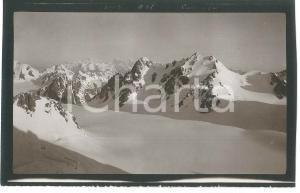 1913 CAUCASO - Montagne innevate (1) Foto VINTAGE 15x9 cm