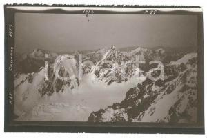 1913 CAUCASO - Montagne innevate (2) Foto VINTAGE 15x9 cm