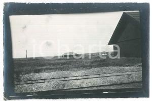 1913 CAUCASO - Edifici rurali - Foto VINTAGE 15x9 cm