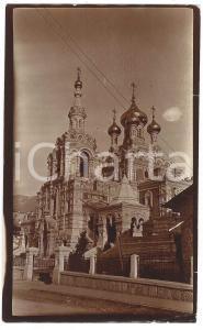 1910 ca CAUCASO - Cattedrale ortodossa - Foto VINTAGE 9x15 cm