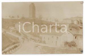 1900 ca ITALIA Un paese di campagna - Foto VINTAGE - ANIMATA 14x8 cm