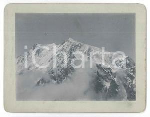 1900 ca ALPI - MONTE ROSA - Veduta della parete orientale - Foto 13x10 cm