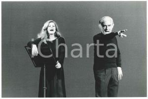 1979 MILANO Piccolo Teatro - MILVA e Giorgio STREHLER
