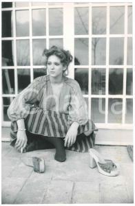 1980 ca TEATRO Attrice Elisabetta POZZI - Ritratto - Foto 19x29 cm