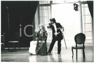 1981 TEATRO Valeria MORICONI Antonio FRANCIONI in