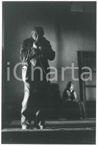 1980 ca MILANO Piccolo Teatro - Tino CARRARO in scena - Foto 20x30 cm